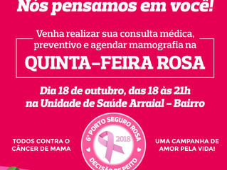Quinta-Feira Rosa Choque