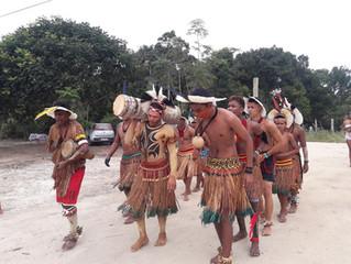 Aldeia Juerana promove festa com tradicional casamento indígena
