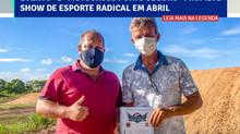 A Prefeitura de Porto Seguro firma apoio à realização do 2° Motocross de Porto Seguro