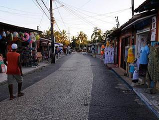 Passeie pela Rua Broduei