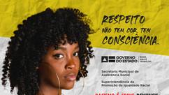 Campanha Municipal Novembro Negro: respeito não tem cor, tem consciência