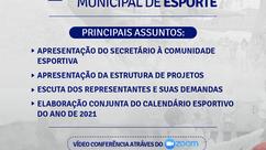 Prefeitura realizará a 1ª Conferência de Esportes em Porto Seguro