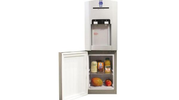 Dispensador Agua Filtrada Fría y Caliente Con Heladera