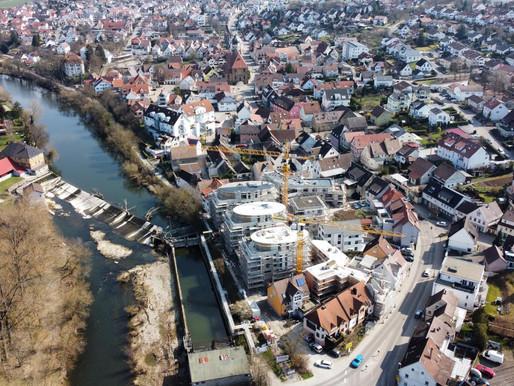 Große Schritte beim Bauprojekt Mühlenhofquartier in Oedheim!