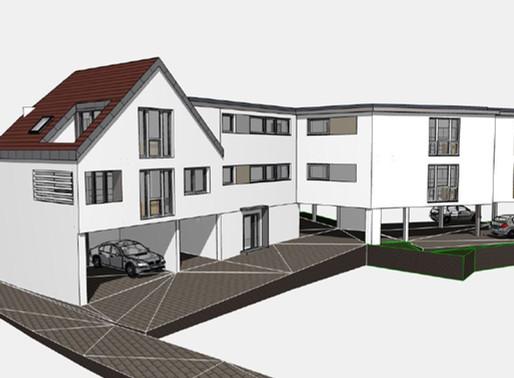Das H66 - Exklusives Neubauprojekt in Oedheim. Mehrfamilienhaus zu verkaufen!