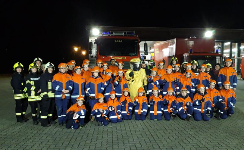 Gruppenbild beim LZG Schleswig