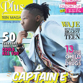Captain E Covers Ruby Plus Teen Magazine March Edition!