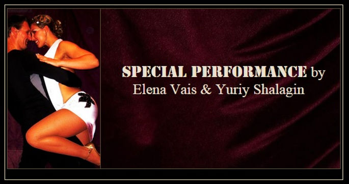Don't miss Yuriy Shalagin with Elena Vais together