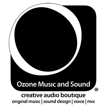 Ozone Music and Sound Website Header Logo