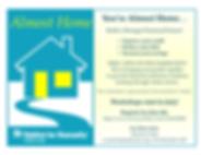 Almost Home Flyer - Summer 2020 Registra