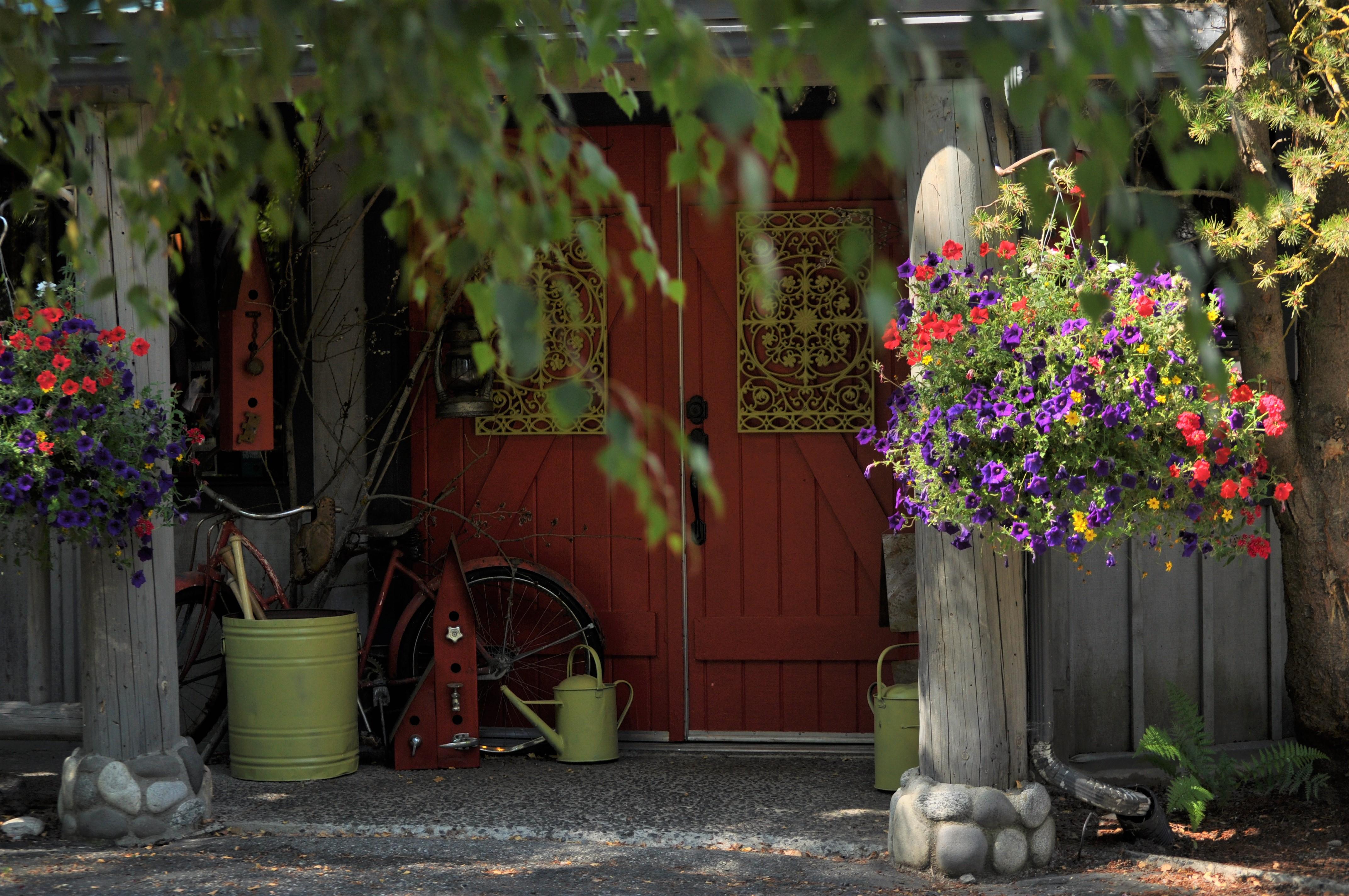 Exterior-Spring Front Door