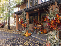 Entry with Fall Decor