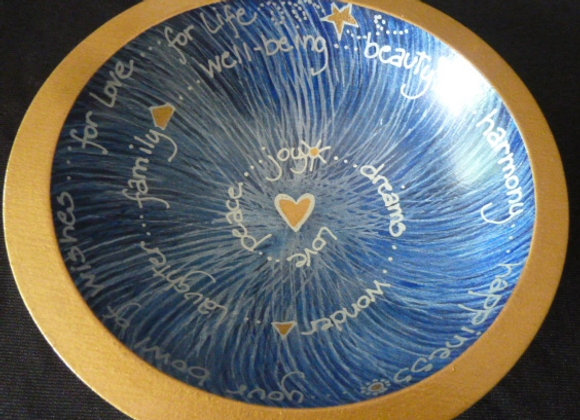 """7"""" Blue Spiral"""