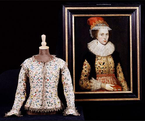 Margaret Brown's portrait and jacket.