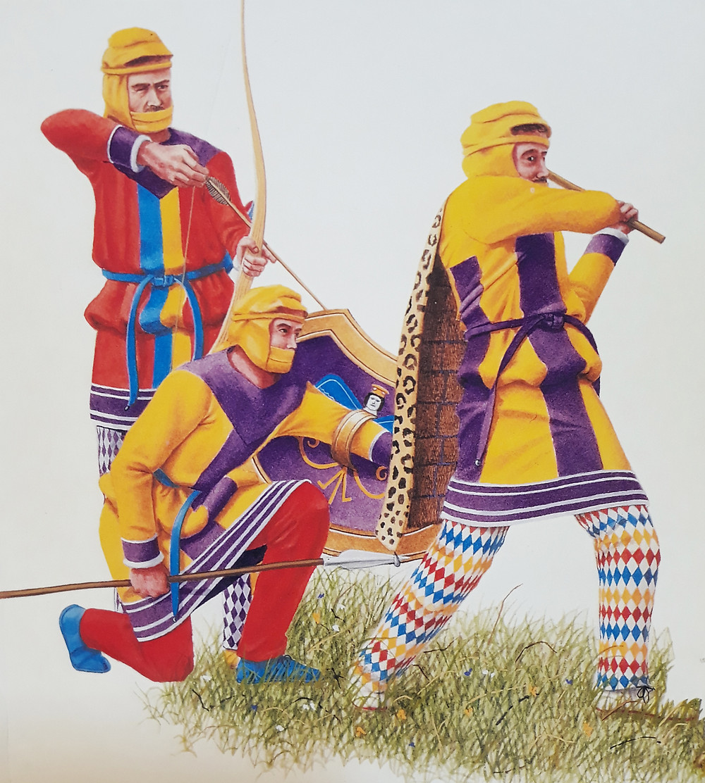 Per Nick Sekunda: Persians in saffron and purple (3)