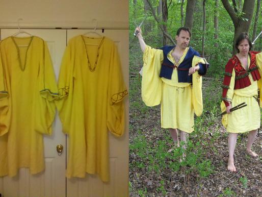 The Saffron Shirt, Part 1: Saffron and Silk, Urine and Grease