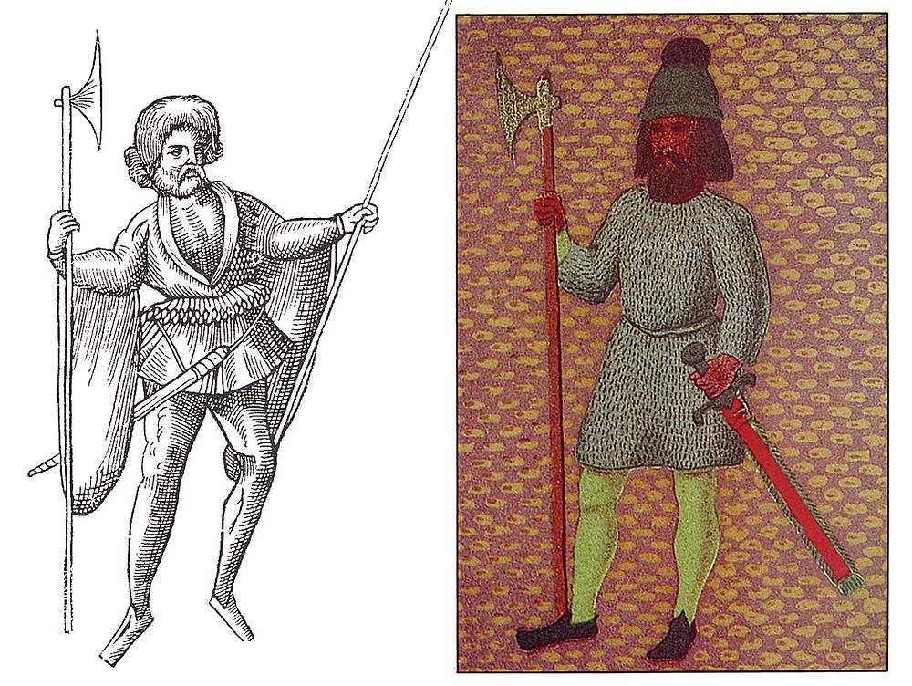 John Derricke Irish kern, and galloglass from Charter of City of Dublin.