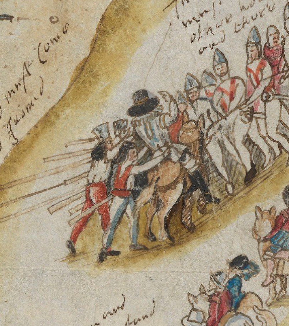 Taking of the Earl of Ormond, 1600.