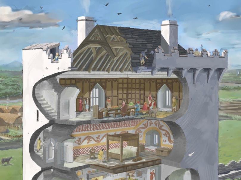 Illustration by JG O'Donoghue, by permission.