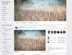 visuel pub site photographie Ewa et friends