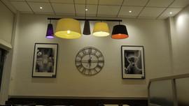 Cadre photo exposés au restaurant Le Glacis à Thionville