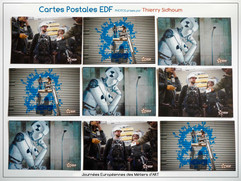Visuel carte postale pour EDF