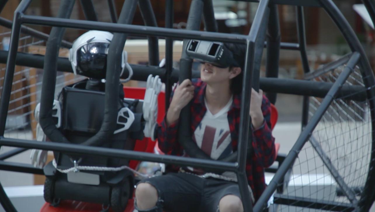 Visión 360 grados / visión en primero persona como pasajero