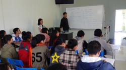 Education center classroom Hue