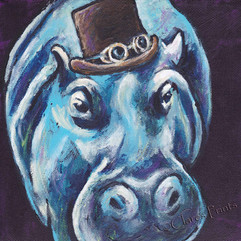 Steampunk Hippo