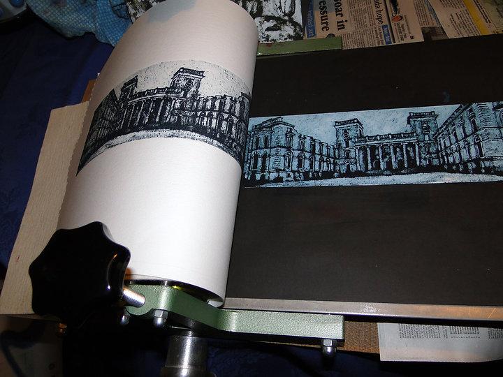 Collograph Print, Printmaker, Artist