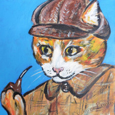 Sherlock Ginger Cat