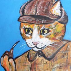Sherlock Ginger Cat