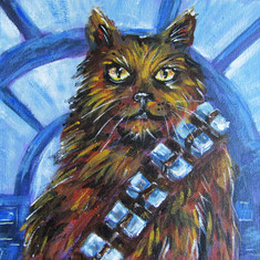 Chewbacca Cat