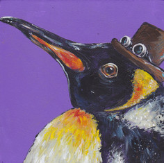 Steampunk King Penguin