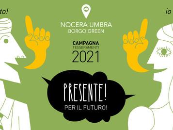 Al via la campagna tesseramenti di Nocera Umbra Borgo Green