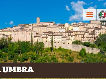 Bandiera Arancione Touring Club per Nocera Umbra