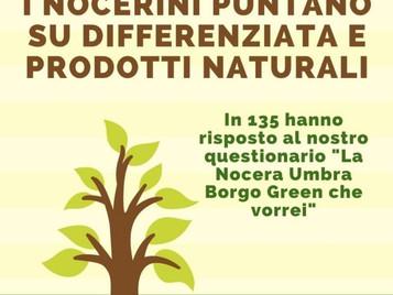 I nocerini puntano su differenziata e prodotti naturali, il sondaggio ci dice perchè.