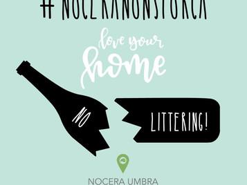 #noceranonsporca: la campagna di sensibilizzazione contro il littering di Nocera Umbra Borgo Green