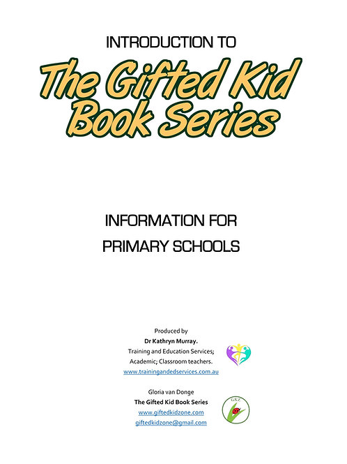 The Gifted Kid Book Series - Primary Alignment