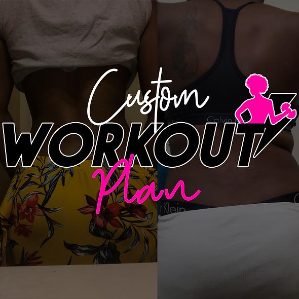 Custom Workout Plan