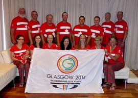 2014 Commonwealth Games team, Glasgow