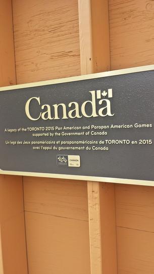 PanAm Legacy Facility Sign
