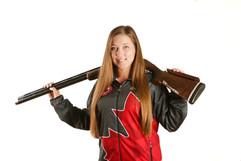 Elizabeth Longley, Petro Canada Face athlete photo.