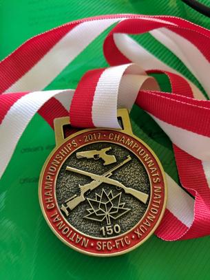 2017 National Championship medal