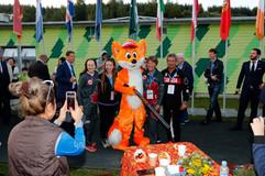 2017 Moscow World Championships Women Team.