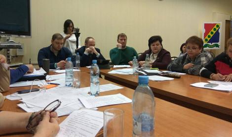Вчерашнее заседание совета депутатов Зюзино. Рабочие моменты и неприятный сюрприз.