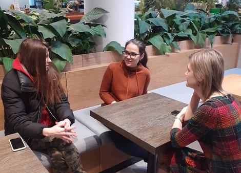 Вторая встреча группы поддержки молодых мам