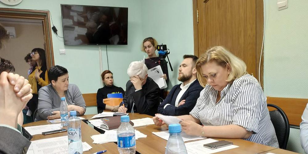 Руководитель ДГП №69 Федулова отчитывается перед Советом депутатов Зюзино