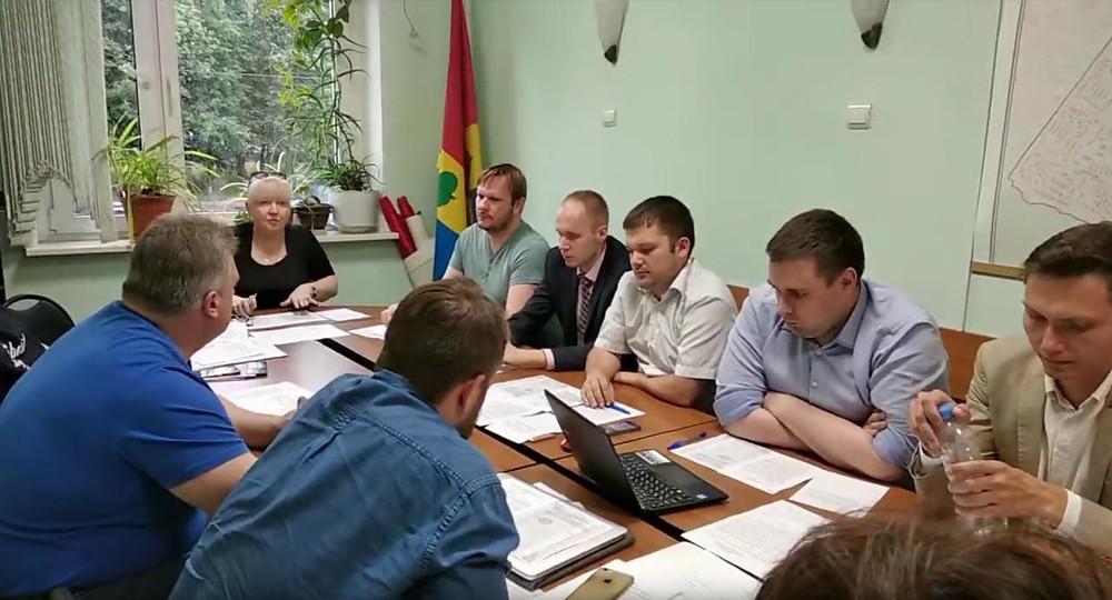 Совет депутатов московского района Зюзино