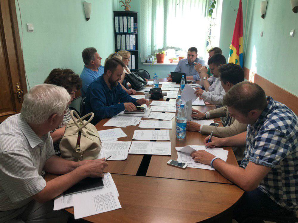 Депутаты Штаба Зюзино на заседании Совета депутатов Зюзино в Москве